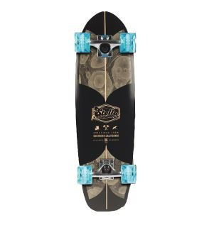 Stella Complete Skateboard (Choose Color and Size) (Beer Runners Haze, 29