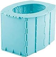 01SHIRTS Portable Folding Toilet, Commode Porta Potty Car Toilet Camping Toilet for Travel Bucket Toilet Seat