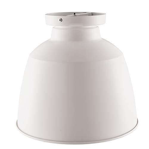 Southern Enterprises AMZ5928TL Averni Flush-Mount Pendant Lamp, White