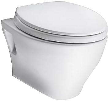 toto ct418f01 aquia wallhung dualflush toilet bowl cotton white
