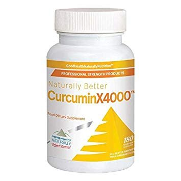 Good Health Naturally CurcuminX4000 - CúrcumaX4000: Amazon ...