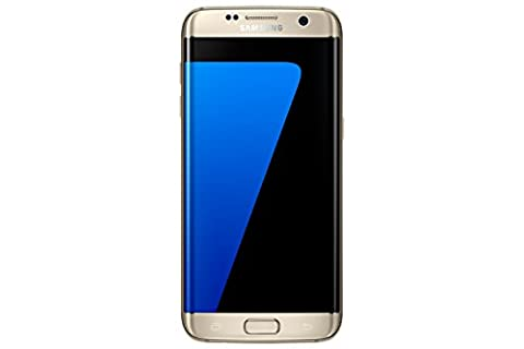 Samsung Galaxy S7 Edge SM-G935F 32GB Unlocked GSM Smartphone - Platinum Gold (Certified Refurbished)