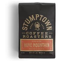 Stumptown Coffee Roasters Whole Beans - Rwanda Huye Mountain - DIRECT Trade - FRESH ROASTED IN SMALL BATCH in Los Angeles California