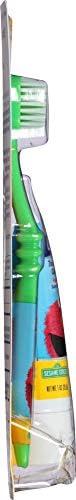 31SFthXOLXL. AC - Orajel Elmo Fluoride-Free Tooth & Gum Cleanser 1.0 Oz. With Toothbrush, Banana Apple, 1 Oz.