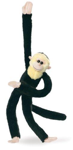 "Wild Republic 17"" Hanging Monkey Black Capuchin"