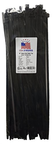 USA Strong Cable Ties. 18