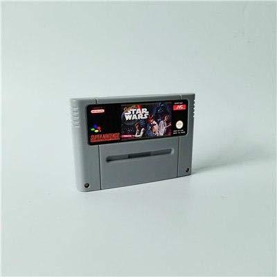 Game card Super Star Wars - Action Game EUR Version ,Game Cartridge 16 Bit SNES , cartridge snes , cartridge super (Genesis Wars Sega Star)