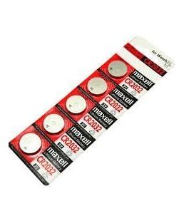 Hitachi Maxell 2032 3V Lithium Battery (5 Batteries)