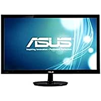 Asus VS247H-P 23.6-inch LED-Backlit LCD Monitor - 50000000:1-1080p - 300 cd/m2-2 ms - 0.272 mm - HDMI, VGA/DVI - Black (Certified Refurbished)