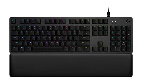 Logitech G513 RGB Backlit Mechanical Gaming Keyboard with GX