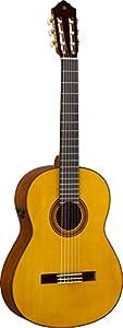 Yamaha CG-TA Nylon String Transacoustic Guitar with Chorus and Reverb - Gig Bag Included