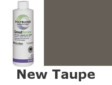 - Polyblend #185 New Taupe 8 fl. oz. Grout Renew Colorant