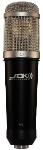 - ADK Microphones A6 Class A, FET, Studio Condenser Microphone  with Mounting Ring