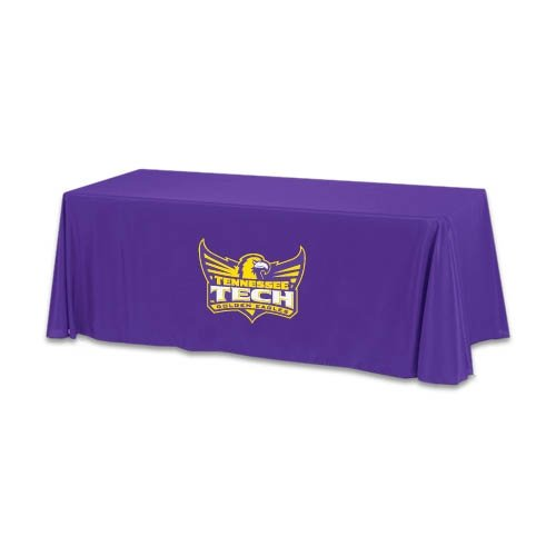 Tennessee Tech Purple 6 foot Table Throw 'Official Logo' by CollegeFanGear