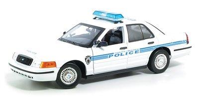 UPC 661732735228, Ford Charlotte Mecklenburg Police Car Diecast Model 1:18 Die Cast Car