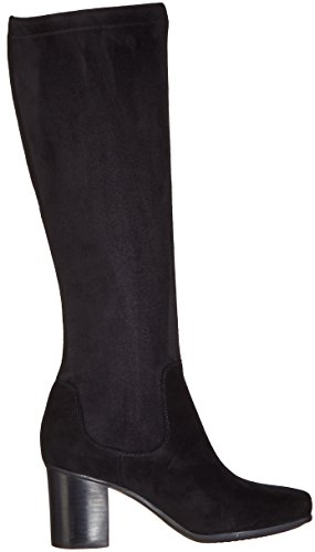 Clarks Suede Daphne Kensett Black Combi Womens Boots UqUOPwIrW