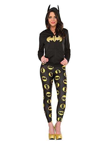 Rubie's Costume 38028 Women's DC Comics Batgirl Leggings, Black, One Size ()