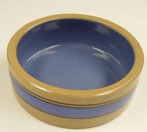 Ceramic Dish Dog Toy in Stripe