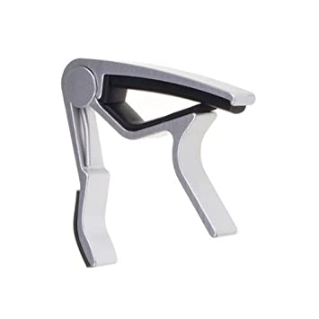 Trigger Capo for Electric and Acoustic Guitars in Black