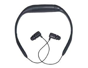 Diseño a prueba de agua para auriculares 4GB Reproductor de MP3 con FM (Negro)