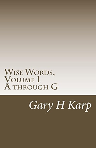 Amazoncom Wise Words Volume 1 Over 500 Empowering Quotes And