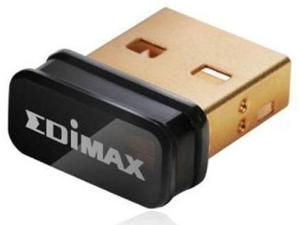 Edimax EW-7811Un 150Mbps 11n Wi-Fi USB Adapter, Nano Size Lets You Plug it and