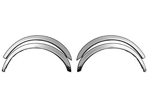 QAA FITS MAXIMA 2009-2010 NISSAN (4 Pc: Stainless Steel Fender Trim - Clip on or screw in, hardware included, 4-door) WZ29540