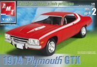 (1/25 '74 Plymouth GTX by Learning Curve by AMT Ertl)