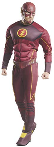 Rubie's Men's Flash Deluxe Costume, Multi, Standard -