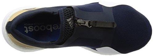 blau adidas Fitnessschuhe Tr Zip X Damen Pureboost nvrqYgPv