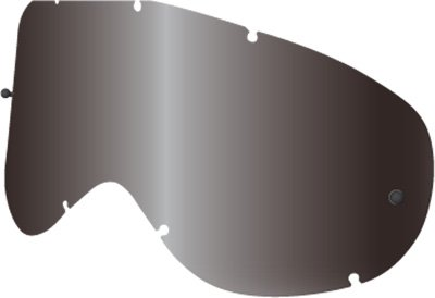 Dragon Alliance Replacement Lens With Tear-Off Posts for MDX Goggles Jet Black