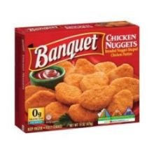 Conagra Banquet Original Boneless Chicken Nugget  15 Ounce    12 Per Case