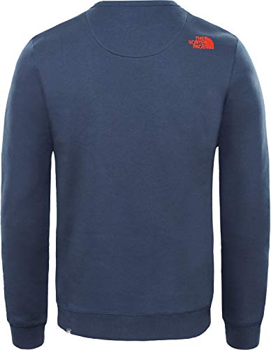 Peak Navy Drew fiery Red The Pull urban North Crew Homme Bleu Face zqzOw
