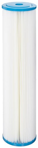 Hydronix SPC-45-2010 Polyester Pleated Filter 4.5'' OD X 20'' Length, 10 Micron by Hydronix