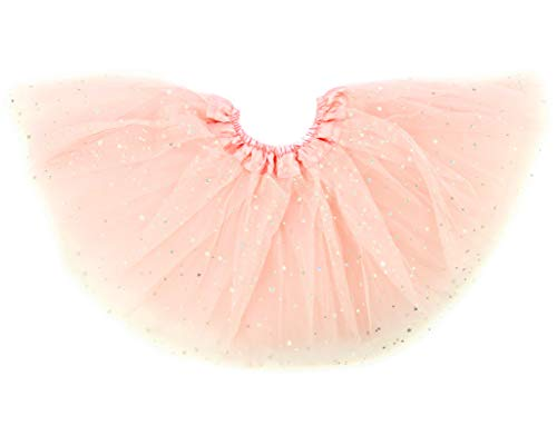 Dancina Girls' Sparkle Tutu Big Girls Ages 8-13 Years Ballet Pink Glitter -