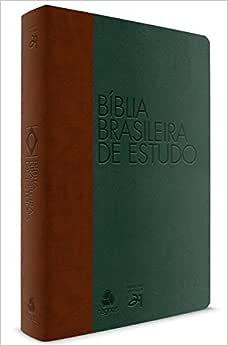Biblia brasileira de estudo : Marrom / Verde