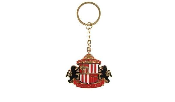 Sunderland Athletic FC. CRESTA de Metal llavero: Amazon.es ...