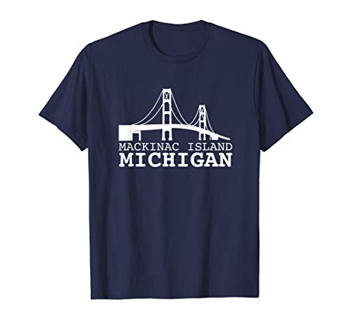 Mackinac Island Michigan Souvenir Shirt - Tshirt