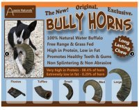 - Water Buffalo Horn Grass Fed & Free Range Tuffie
