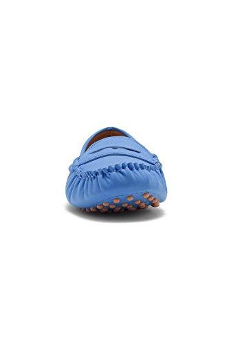 Herstyle Dames Door De Daphney Vervaardigde Mocassin Blauw