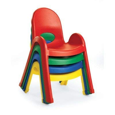 Value Stack 11'' Chair - Royal Blue by Children's Factory