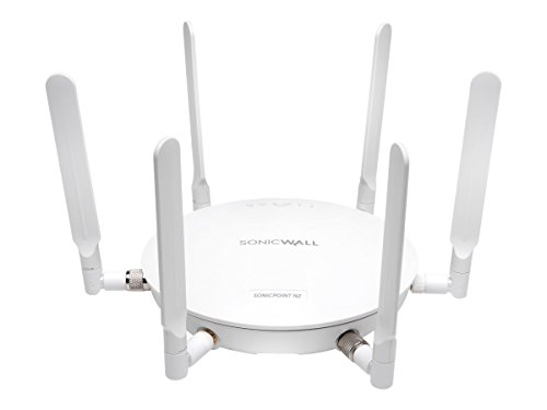 SonicWall | SONICPOINT Access Point N2 with POE Injector, Includes 1-Year 24X7 Support | 01-SSC-0874