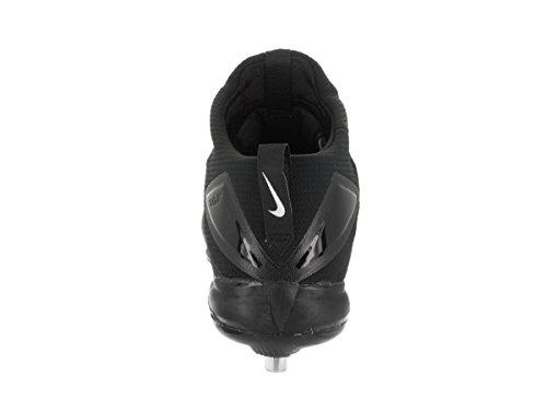 Nike Mens Zoom Forel 3 Honkbalplaatje Zwart / Wit Wit