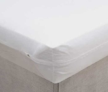 mattress cover with zipper. dry defender vinyl mattress protector 3 gauge twin xl extra long size zippered cover with zipper