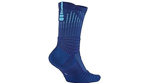 Nike U Nk Elt Vrstlty Crw Disruptor Calcetines, Hombre Azul (Game Royal / Vivid Sky)