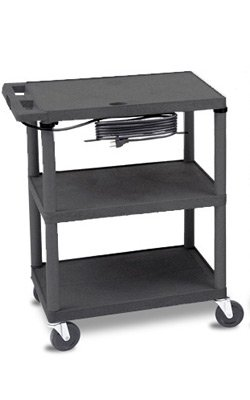 Chattanooga Group Therapy Cart - Black Electrical Utility - Chattanooga Outlets