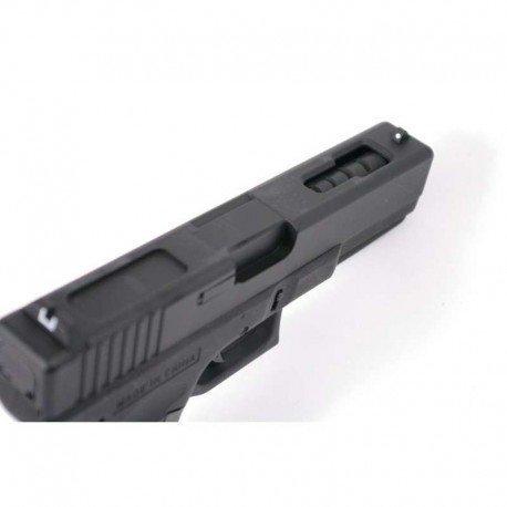 CYMA Airsoft G18 Pistolet Electrique Automatique Cm030 (0.5 Joule) Noir Culasse Métal 5