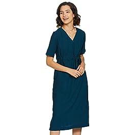 Buy Amazon Brand Symbol Crepe a-line Dress India 2021