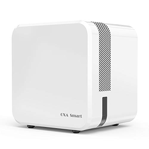 Mini Dehumidifier Electric Ultra-Quiet 650ML Home Dehumidifier Auto-Off Compact and Perfect for Bedroom, Closets, Basement and Other Small Room & Space]()