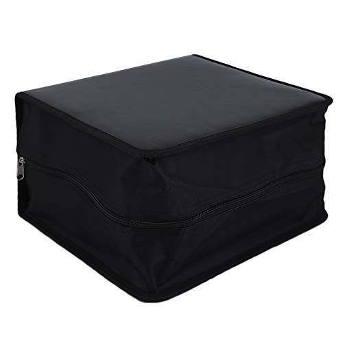 CD DVD Storage Bag Organizer 520 Disc High-Grade Leather Holder Media Carry Case Wallet